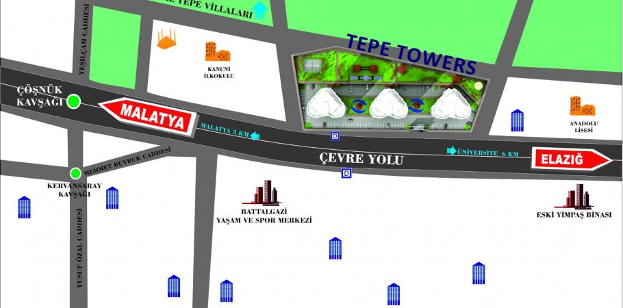 TEPE TOWERS EVLERİ